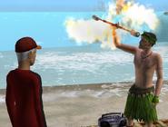 Aprendendo a dança do fogo 3
