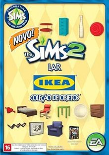 Capa The Sims 2 Lar IKEA