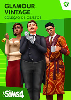 Capa The Sims 4 Glamour Vintage