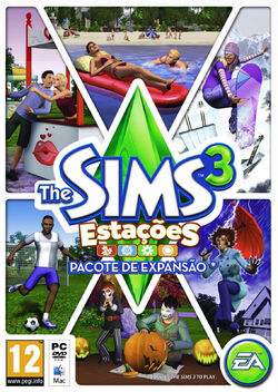 Packshot The Sims 3 Estações