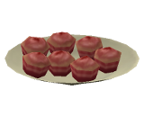 Cupcakes de Refresco de Morango