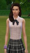 Luna Villareal no jogo
