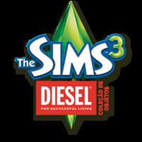 Logo The Sims 3 Diesel