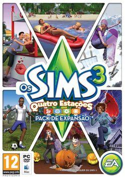Packshot Os Sims 3 Estações