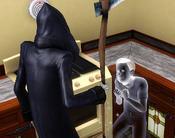 Sim suplicando a Dona Morte
