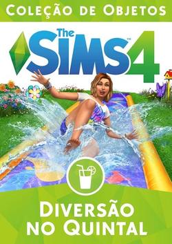 Capa The Sims 4 Diversão no Quintal (Primeira Versão)