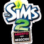 Logo The Sims 2 Aberto para Negócios