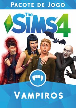 Capa The Sims 4 Vampiros (Primeira Versão)
