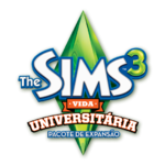 Logo The Sims 3 Vida Universitária