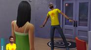Andre sendo manipulado pelo Boneco Vodu