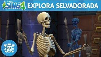 The Sims 4 Aventuras na Selva Trailer oficial de jogabilidade – Explore Selvadorada