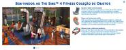 The Sims 4 Fitness (Mensagem Boas Vindas)
