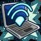 Ícone Notebook Wi-fi