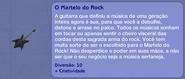 O Martelo do Rock (descrição)