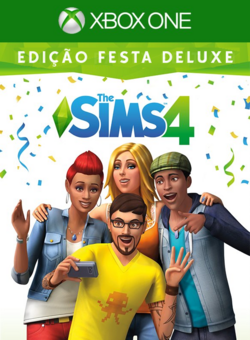 The Sims 4 Edição Festa Deluxe (Xbox One)
