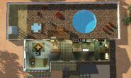 Casa Anos 70, visão interna