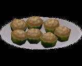 Cupcakes de Boneco Amanteigado