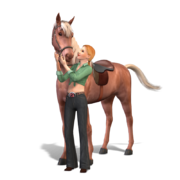 The sims 3 pets cavalo