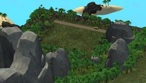 Canto do mapa Ilha Twikkii