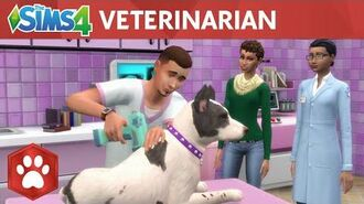 The Sims 4 Cats & Dogs Veterinarian Official Gameplay Trailer