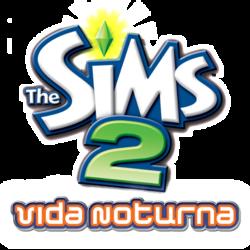 Logo The Sims 2 Vida Noturna