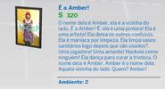Quadro É a Amber