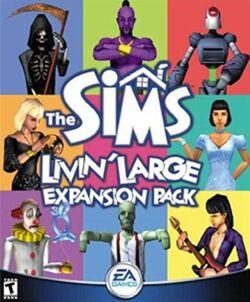 Capa The Sims Gozando a Vida