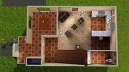 Casa Urbana Mediterrânea, primeiro andar