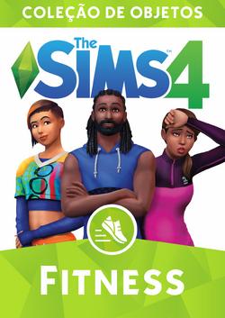 Capa The Sims 4 Fitness (Primeira Versão)