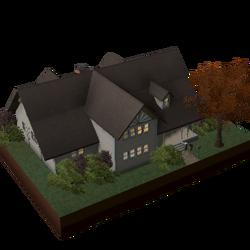 Casa com Trapeira