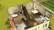 Casa da Lilás (Champs Les Sims), segundo andar