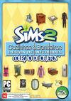Capa The Sims 2 Cozinhas & Banheiros Design de Interiores