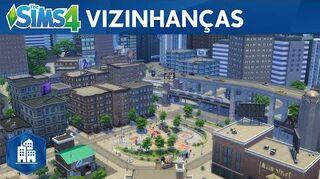 The Sims 4 Vida na Cidade Trailer Oficial das Vizinhanças