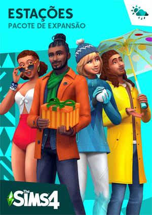 Capa The Sims 4 Estações
