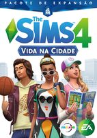 Capa The Sims 4 Vida na Cidade (Primeira Versão)