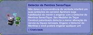 Detector de Mentiras SensoTique (descrição)