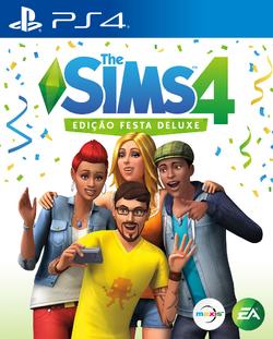 The Sims 4 Edição Festa Deluxe (PlayStation 4)