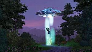 Abdução The Sims 3