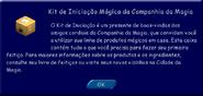 Kit de Iniciação Mágica