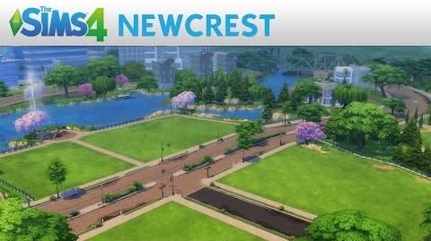 The Sims 4 Newcrest Trailer Oficial