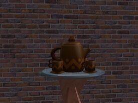 Pequeno Conjunto de Chá