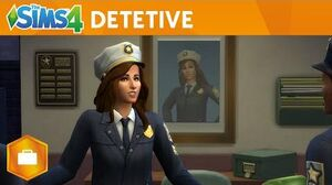 The Sims 4 Ao Trabalho - Trailer Oficial Gameplay de Detetive