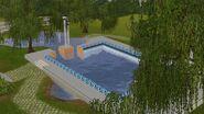 Morada Ancestral, piscina