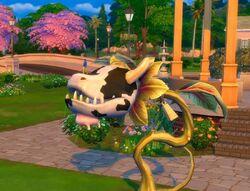 Planta-Vaca em The Sims 4