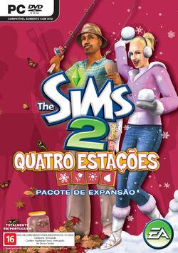 Capa The Sims 2 Quatro Estações