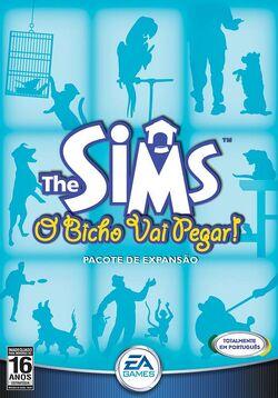 Capa The Sims O Bicho Vai Pegar