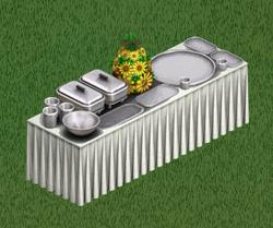 Mesa de Buffet 'O Chef Elegante'