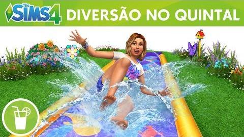 The Sims 4 Diversão no Quintal Coleção de Objetos Trailer Oficial