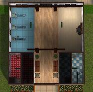 Academia Cratos, interior
