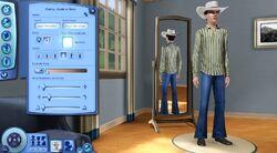 CAS The Sims 3